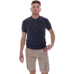 Oblečenie Muži Polokošele s krátkym rukávom Sseinse ME1513SS Modrá