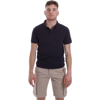 Oblečenie Muži Polokošele s krátkym rukávom Sseinse ME1517SS Modrá