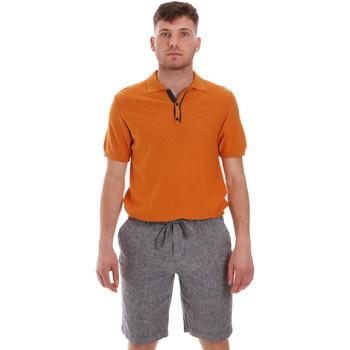 Oblečenie Muži Polokošele s krátkym rukávom Sseinse ME1528SS Oranžová