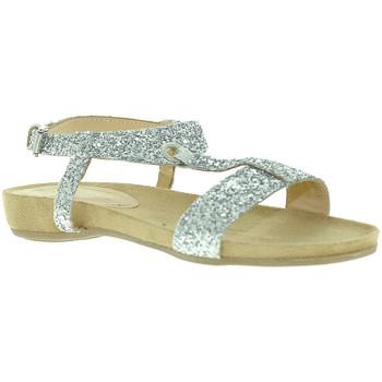 Topánky Ženy Sandále Mally 4681 Striebro