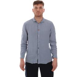 Oblečenie Muži Košele s dlhým rukávom Sseinse CE538SS Modrá