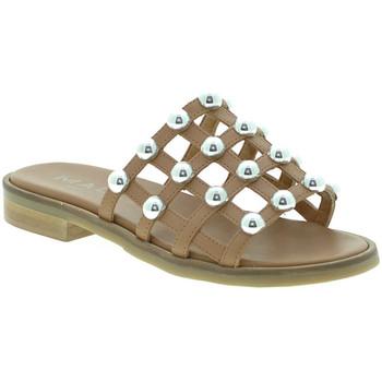 Topánky Ženy Šľapky Mally 6141 Hnedá