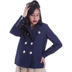 Oblečenie Ženy Saká a blejzre Gaudi 011BD35013 Modrá