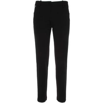 Oblečenie Ženy Nohavice Chinos a Carrot NeroGiardini P860140D čierna