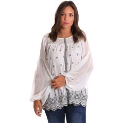 Oblečenie Ženy Blúzky Smash S1887419 Biely
