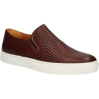 Topánky Muži Slip-on Rogers 2236B Hnedá
