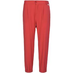 Oblečenie Ženy Nohavice Chinos a Carrot Café Noir JP228 Červená