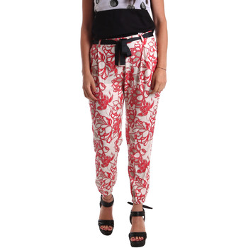 Oblečenie Ženy Nohavice Chinos a Carrot Café Noir JP244 Červená