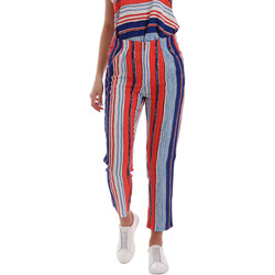 Oblečenie Ženy Nohavice Chinos a Carrot Gaudi 73BD25211 Modrá