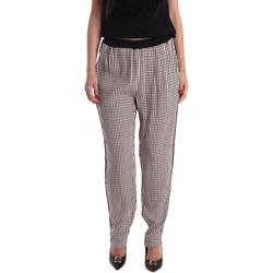 Oblečenie Ženy Padavé nohavice Gaudi 73FD25238 čierna