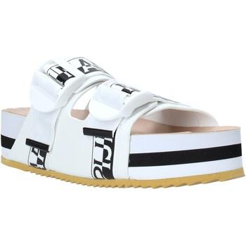 Topánky Ženy Šľapky Napapijri NA4ESE Biely