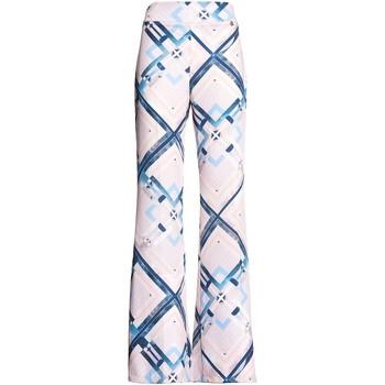 Oblečenie Ženy Padavé nohavice Fracomina FR20SM042 Ružová