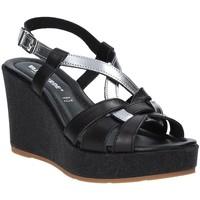 Topánky Ženy Sandále Valleverde 32404 čierna