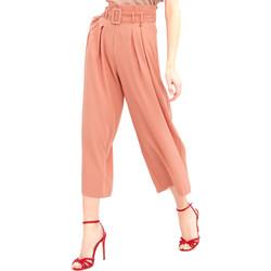 Oblečenie Ženy Padavé nohavice Fracomina FR20SM644 Ružová