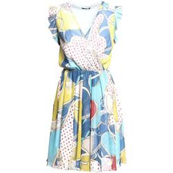 Oblečenie Ženy Krátke šaty Fracomina FR20SM562 Modrá