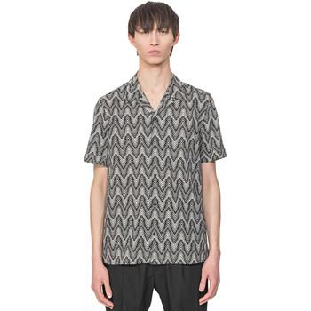 Oblečenie Muži Košele s krátkym rukávom Antony Morato MMSS00156 FA430413 Béžová