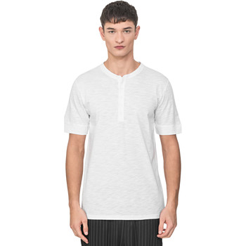 Oblečenie Muži Tričká s krátkym rukávom Antony Morato MMKS01725 FA100139 Biely