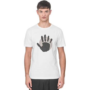 Oblečenie Muži Tričká s krátkym rukávom Antony Morato MMKS01765 FA100144 Biely