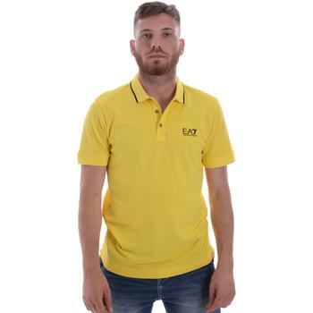 Oblečenie Muži Polokošele s krátkym rukávom Ea7 Emporio Armani 8NPF06 PJ04Z žltá