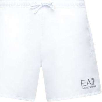 Oblečenie Muži Plavky  Ea7 Emporio Armani 902000 CC721 Biely