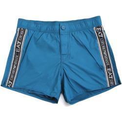 Oblečenie Muži Plavky  Ea7 Emporio Armani 902039 0P734 Modrá