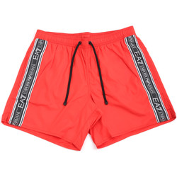 Oblečenie Muži Plavky  Ea7 Emporio Armani 902000 0P734 Červená