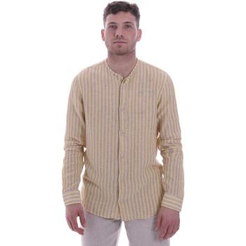 Oblečenie Muži Košele s dlhým rukávom Sseinse CE534SS Béžová