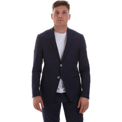 Oblečenie Muži Saká a blejzre Sseinse GAE569SS Modrá