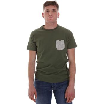 Oblečenie Muži Tričká s krátkym rukávom Sseinse ME1588SS Zelená