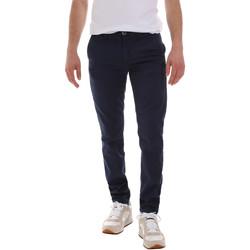 Oblečenie Muži Nohavice Chinos a Carrot Sseinse PSE555SS Modrá