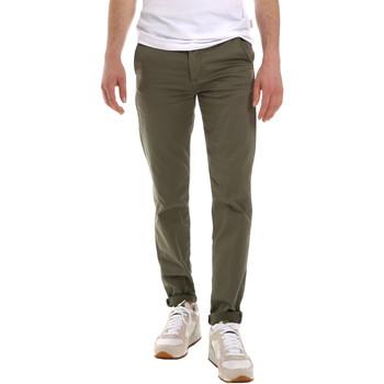Oblečenie Muži Nohavice Chinos a Carrot Sseinse PSE555SS Zelená
