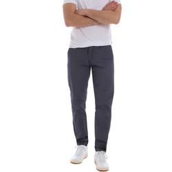 Oblečenie Muži Nohavice Chinos a Carrot Sseinse PSE569SS Modrá