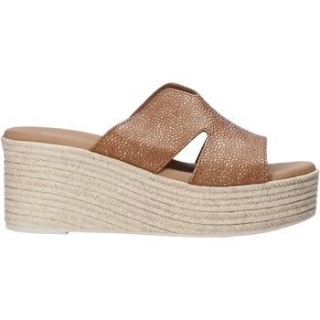 Topánky Ženy Šľapky Valleverde 34270 Hnedá