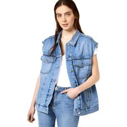 Oblečenie Ženy Džínsové bundy Liu Jo FA0344 D4470 Modrá