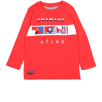 Oblečenie Dievčatá Tričká s dlhým rukávom Losan 015-1002AL Červená