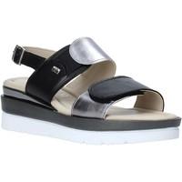 Topánky Ženy Sandále Valleverde 32141 čierna