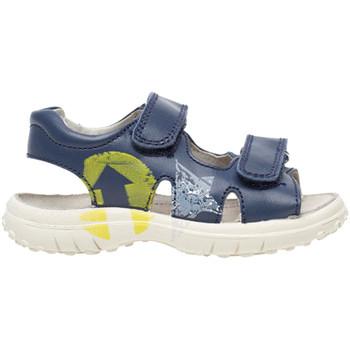 Topánky Deti Sandále Naturino 0502735 01 Modrá