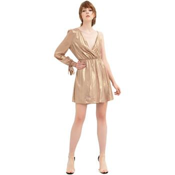 Oblečenie Ženy Krátke šaty Fracomina FR20SP453 Zlato