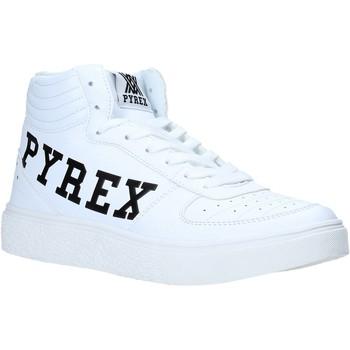Topánky Ženy Členkové tenisky Pyrex PY020207 Biely