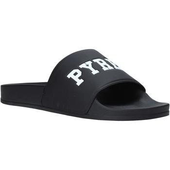 Topánky Muži športové šľapky Pyrex PY020167 čierna