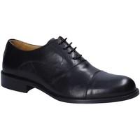Topánky Muži Derbie Exton 6014 čierna