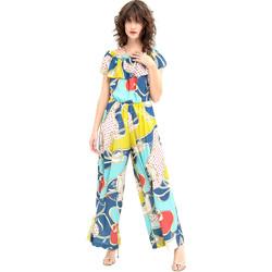 Oblečenie Ženy Módne overaly Fracomina FR20SM032 Modrá