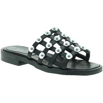 Topánky Ženy Šľapky Mally 6141 čierna