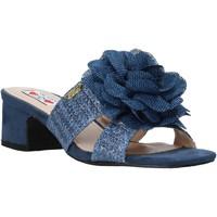 Topánky Ženy Šľapky Love To Love EVA579 Modrá