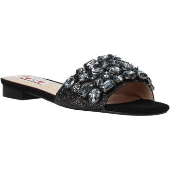 Topánky Ženy Šľapky Love To Love ALE 183 čierna