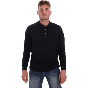 Oblečenie Muži Polokošele s dlhým rukávom Navigare NV82109 Modrá