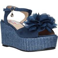 Topánky Ženy Sandále Love To Love GIN579 Modrá
