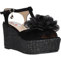 Topánky Ženy Sandále Love To Love GIN583 čierna