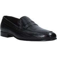 Topánky Muži Mokasíny Exton 1021 čierna