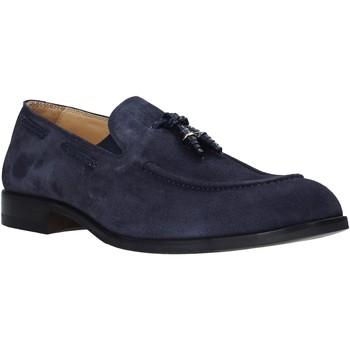 Topánky Muži Mokasíny Exton 1111 Modrá